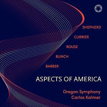 Barber / Oregon Symphony / Kalmar - Aspects of America [SACD] USA import