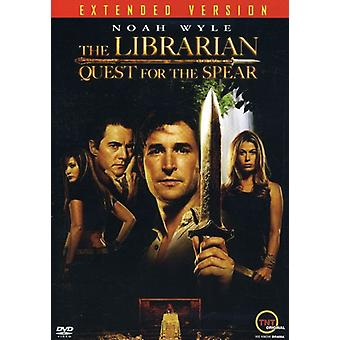 The Librarian: Quest for the Spear [Extended Version] [DVD] USA import