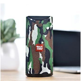 T & G TG-113 Wireless Soundbar Speaker Wireless Bluetooth 4.2 Speaker Box Camo