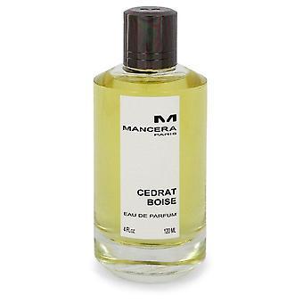 Mancera Cedrat Boise Eau De Parfum Spray (Unisex Tester) By Mancera 4 oz Eau De Parfum Spray
