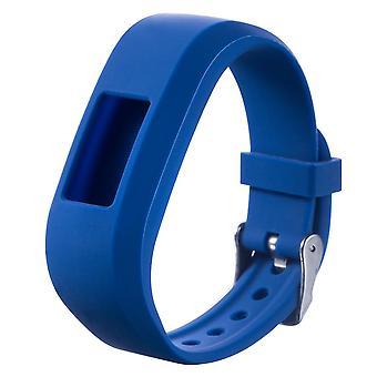 For Garmin Vivofit JR Buckle JR 2 Strap Replacement Wristband Bracelet Band[Navy Blue]