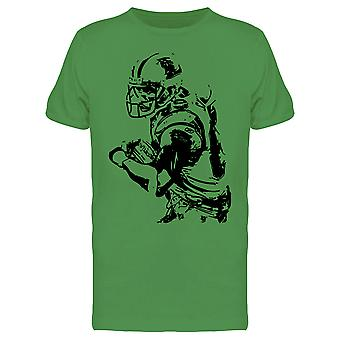 Football Player Design Tee Men's -Image by Shutterstock
