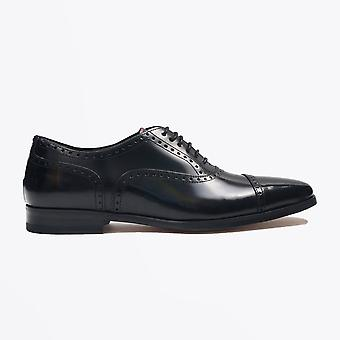 Paul Smith  - Calf Leather 'Shaw' Brogues - Black