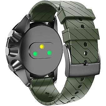 Bracelet compatible with Suunto - Military Green