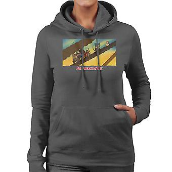 An American Tail Fievel And Family On Rope Women's Hooded Sweatshirt