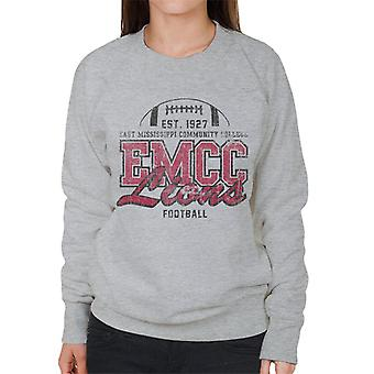 East Mississippi Community College mörka nödställda Lions kvinnor ' s Sweatshirt