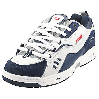 Globe Ct-iv Classic Mens Skate Trainers in White Blue