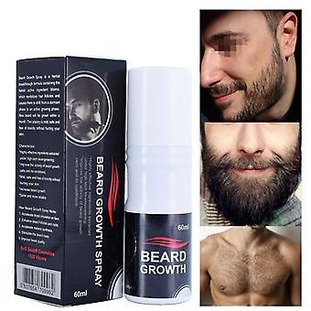 Beard Oil Anti Hair Loss Men Spray Heard Growth Skin Nourishment