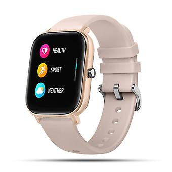 Lige 2020 Smartwatch Smartband Smartphone Fitness Sport Activity Tracker Watch IPS iOS Android iPhone Samsung Huawei Pink Gold