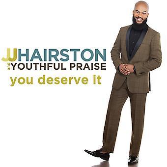 Jj Hairston & Youthful Praise - You Deserve It [CD] USA import