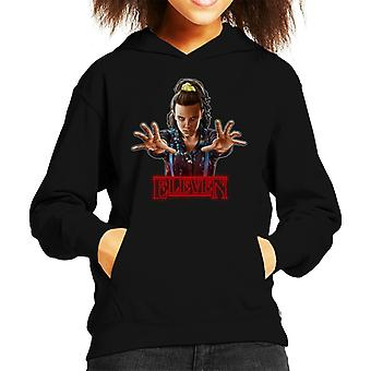 Stranger Things S3 Eleven Kid's Hooded Sweatshirt