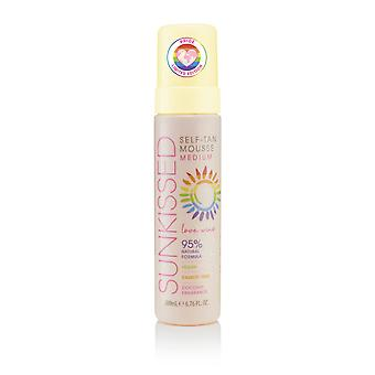 Sunkissed LOVE WINS Self-Tan Mousse - Ultra Dark200ml 95% Natural