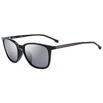 Solglasögon Män 1063/F/S807/T4 Mäns Svart/Silver