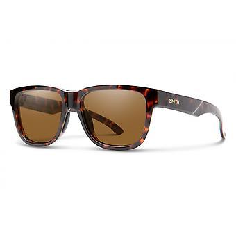 Sonnenbrille Unisex Lowdown Slim 2    dunkelbraun havanna/bronze