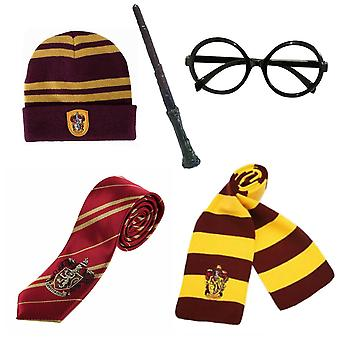 Harry Potter Magic Wizard Cosplay Costume Fancy Dress Accessory Set