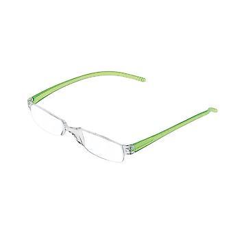 Lesebrille Unisex  Facile grüne Stärke +3,00 (le-0129D)