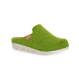 Grunland poff groene schoenen