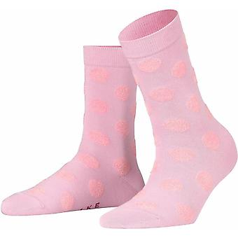 Falke Dot Socks - Rose Water Pink