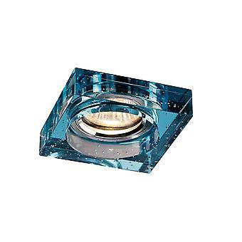 Bubble Encastré Downlight Square RIM ONLY Aqua, nécessite 100035310 pour compléter l'article
