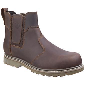 Amblers Men-apos;s Abingdon Dealer Boot Brown 19518