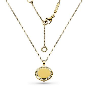 Kit Heath Empire Revival Round Spinner Gold Plate 17-quot; Necklace 90385GD029