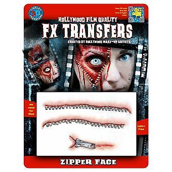 Tinsley Transfers 3D Fx Transfers  Medium (Zipper Face)