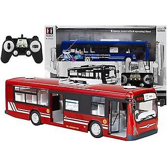 Big R / C Bus 2 Color Remote Control Cargador Baterías 33 cm