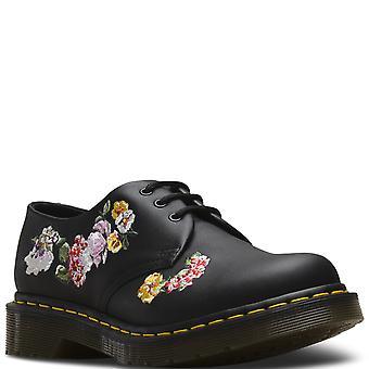 Womens Dr Martens 1461 II Vonda cuir Floral fermé orteils chaussures Punk à plat