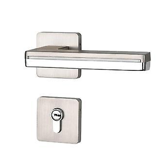 New Black Interior Door Lock Led Light Door Handles