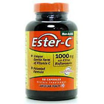 American Health Ester-c With Citrus Bioflavonoids, 1000 mg, 90 Caps