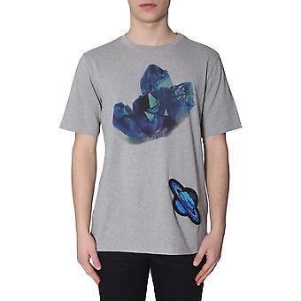 Paul Smith M1r697pap103772 Men's Grey Cotton T-shirt