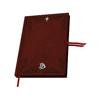 Le Hobbit Premium A5 Notebook Bilbo Baggins nouveau Brown officiel