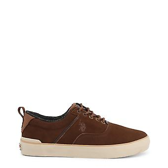 Us polo assn. 7106w9 men's synthetic suede sneakers