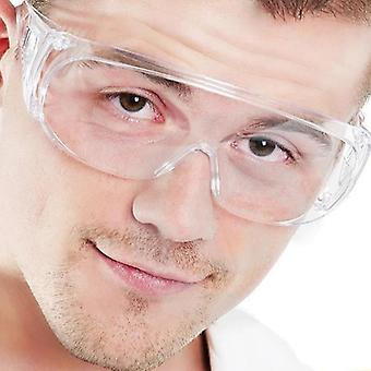 New Clear Vented Safety Goggles Eye Protection, Protective Lab Anti Fog Glasses