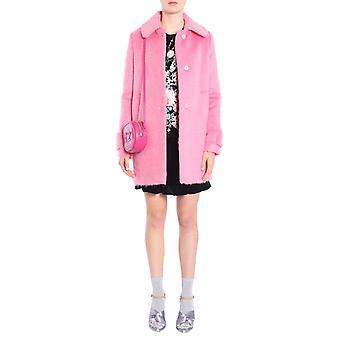 N°21 N05131134244 Dames's Roze Wollen Jas