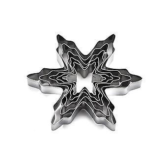 Stainless Steel Snowflake Design Cookie Cutters-baking Tools