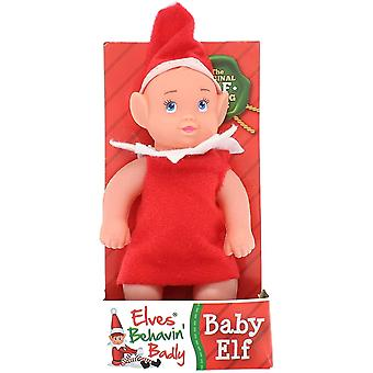 Elf Baby With Night Shirt - 1 At Random