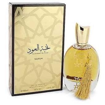 Nukhbat Al Oud By Nusuk Eau De Parfum Spray (unisex) 3.4 Oz (women) V728-545891