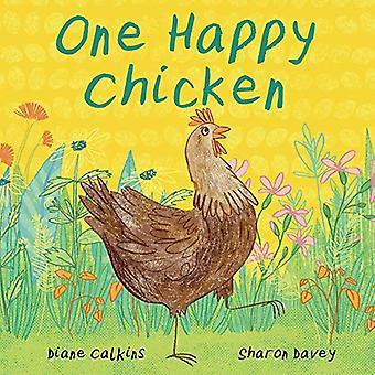 Un pollo felice