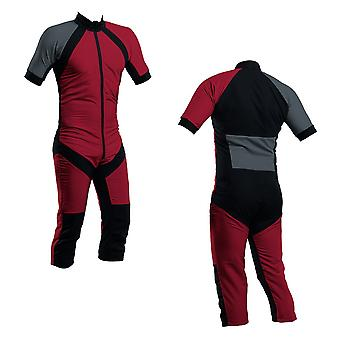 Skydiving summer suit paprika-charcoal s2-03