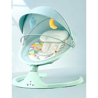 Baby Bouncer nyfödda lugn stol Bälte Fjärrkontroll