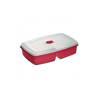 Pojemnik Do Mikrofal-3wki Podw-3jny Czerwony 3104 Plast Team