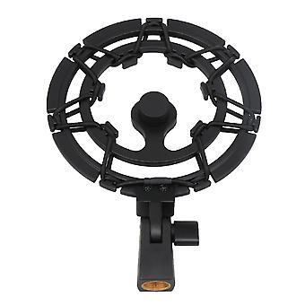 14cm Diameter Microphones Audio Mount Holder with Hinge Design Black