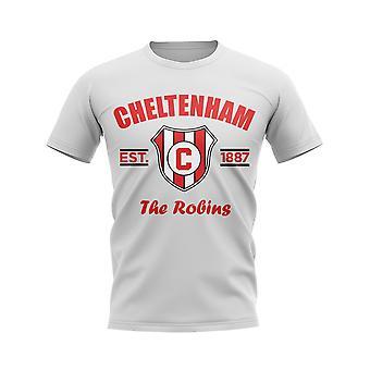 Cheltenham Established Jalkapallo T-paita (Valkoinen)
