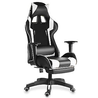 Wcg Office Gaming& Liggende Gaming Chair Draaibare Pu Lederen bureaustoel