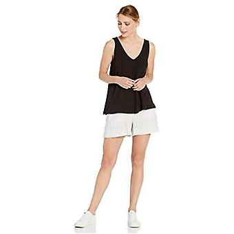 Brand - Daily Ritual Women's Supersoft Terry V-Neck Tank, Sort,Lille