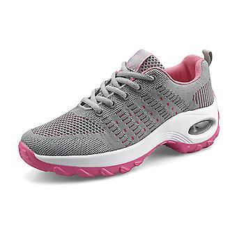 Chaussures de course femme coussin d'air8836 Gris