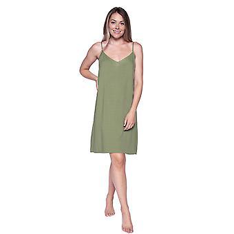 Cyberjammies Natalie 4807 Women's Green Nightdress