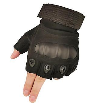 Hard Knuckle, Half Finger Gloves