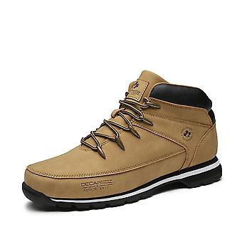 New Leather Classic Lace-up Men Boots